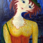"""Reihe: Die Naiven """"Mädchen in Paris"""" 2009   Rieck Sonja"""