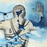 "TATTOO ""Freiheit"" 2016 Öl auf Leinwand 100x140cm"